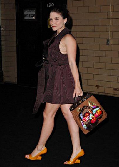Sophia Blush mit einem Modell von Marc Jacobs